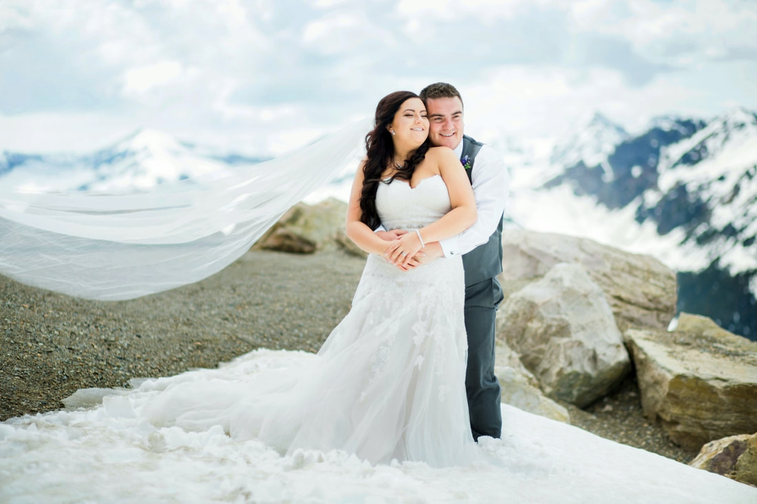 Kicking Horse Resort Wedding photos Kane and Roxanne